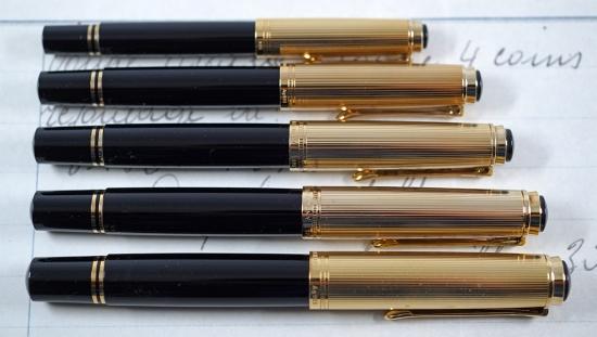 Pelikan's Vermeil Souverän fountain pens