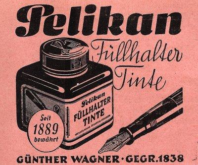 Pelikan fountain pen ink