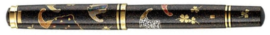 Pelikan Maki-e Five Lucky Bats Limited Edition