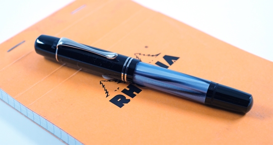 Pelikan M101N Grey-Blue Fountain Pen