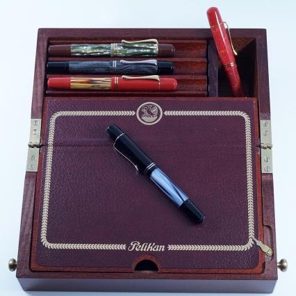 Pelikan's M101N line of fountain pens
