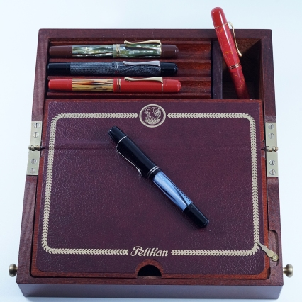 Pelikan's M101N line of fountain pens