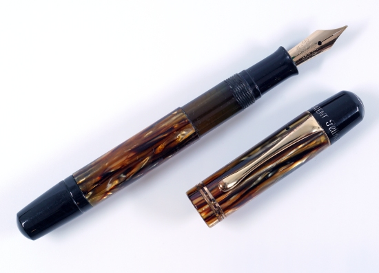 Pelikan 101N Tortoiseshell Brown with Black Accents