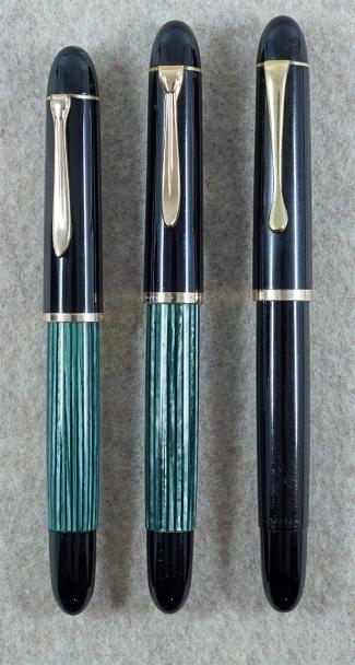Pelikan 140, Pelikan 300, and Gimborn 150 Master