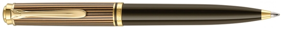 Pelikan K800 Brown Black Ballpoint Pen