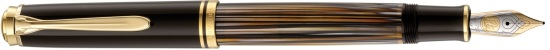 Pelikan M800 Tortoiseshell Brown Fountain Pen