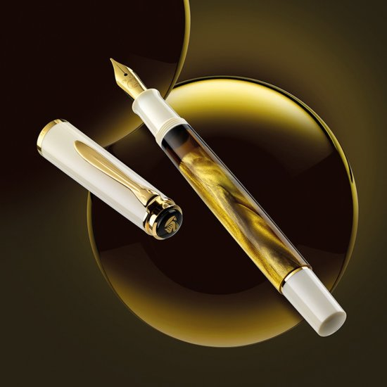 Pelikan M200 Gold Marbled