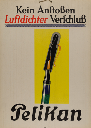 1929 Transparent Pelikan Fountain Pen Advertising