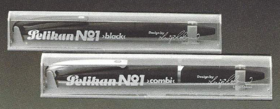 Packaging for the Pelikan No 1 designed by Luigi Colani