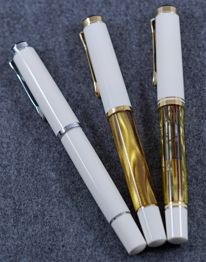 Pelikan M200 Gold Marbled Fountain Pen