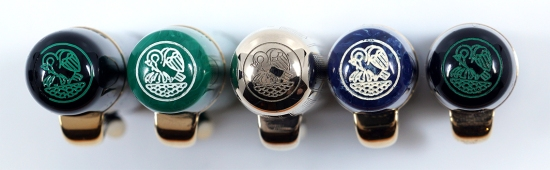 Pelikan Originals of their Time cap tops