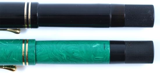 Pelikan Black 100 and 1935 Jade