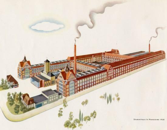 Pelikan Factory circa 1938