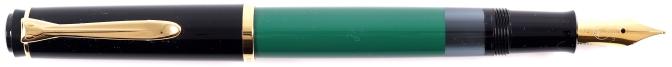 Pelikan M251 Green Black Posted