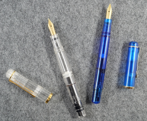 Pelikan M481 and M150 Demonstrators