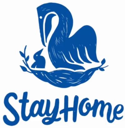 Pelikan Stay Home