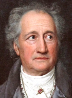 Goethe in 1828 by Joseph Carl Stieler