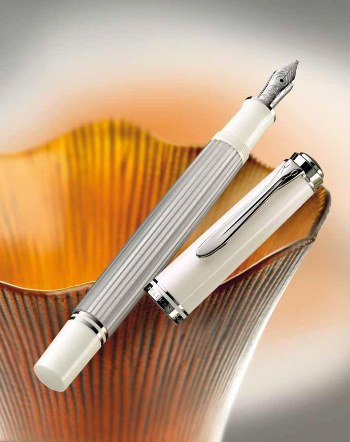 News M405 Silver White Announced The Pelikan S Perch
