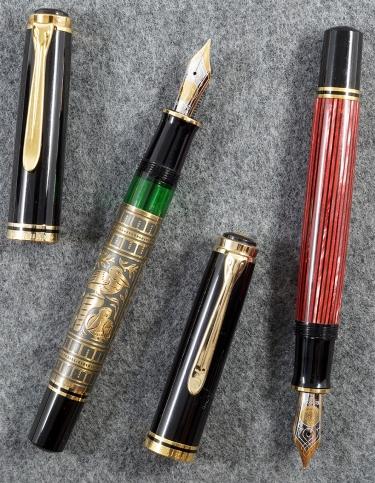 Pelikan M900 and M800