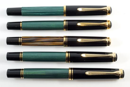 Pelikan M400, M600, and M800