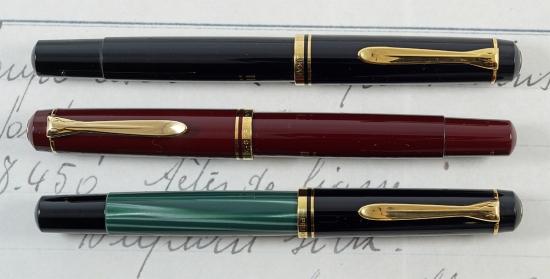 Pelikan's #250 and #350