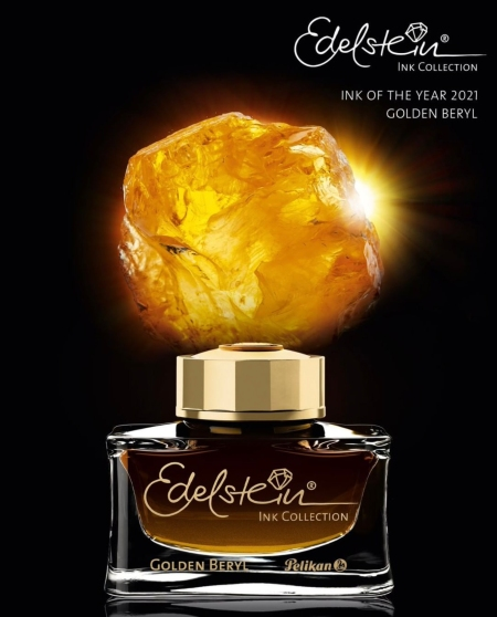 Pelikan Edelstein Ink of the Year 2021 Golden Beryl