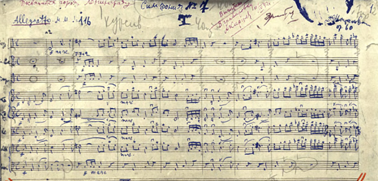 Dmitri Shostakovich's Seventh Symphony