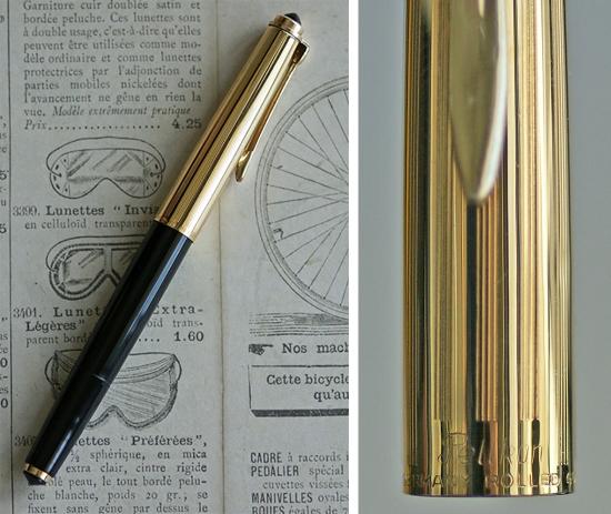Pelikan Rolled Gold Diamond Black P1
