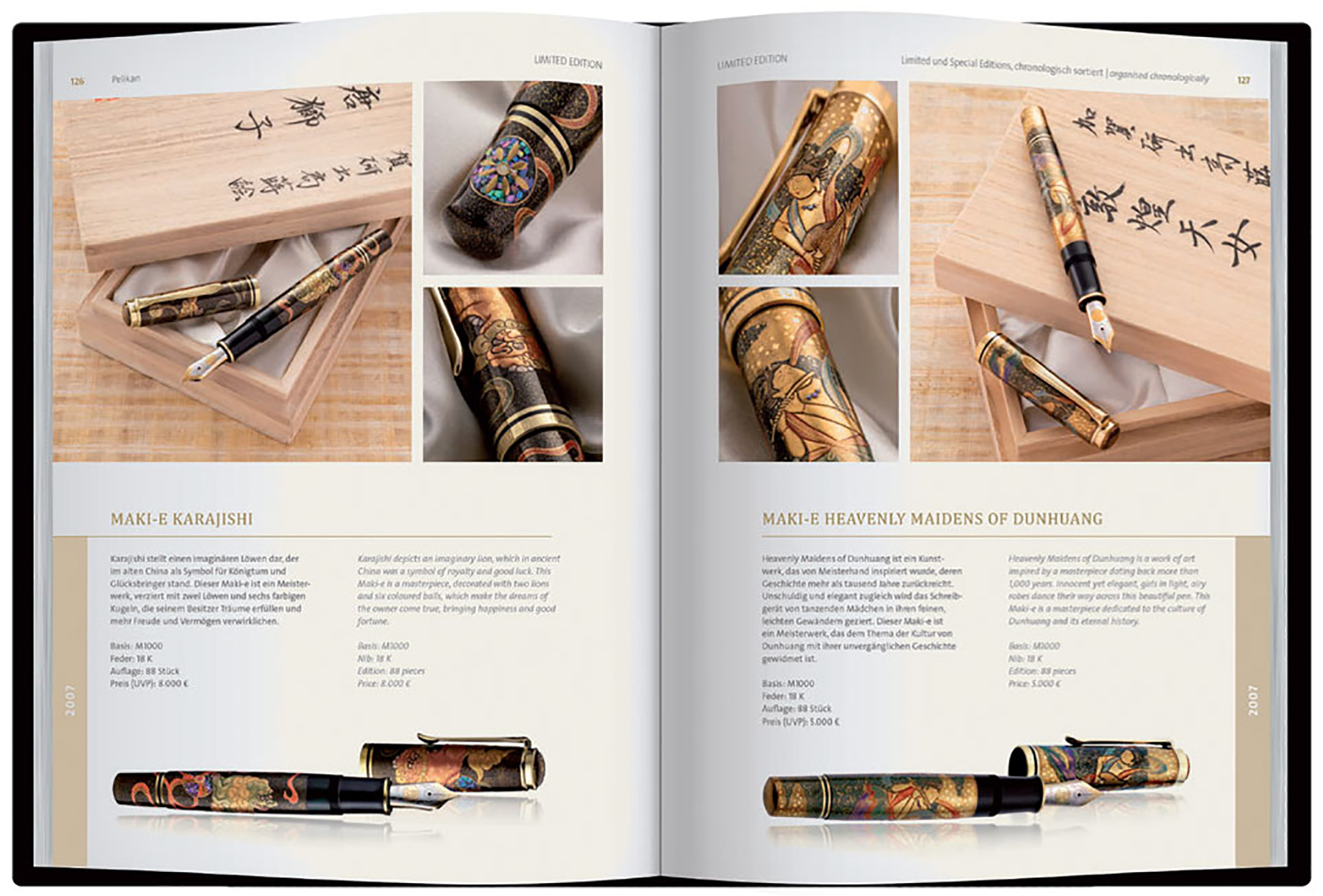 Pelikan Limited & Special Editions: Fine Writing Instruments 1993-2020