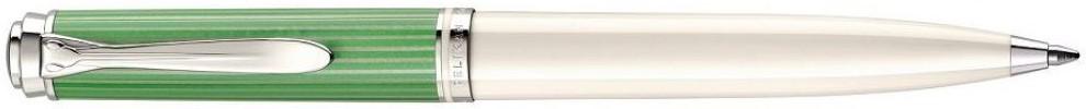 Pelikan K605 Green-White Ballpoint Pen