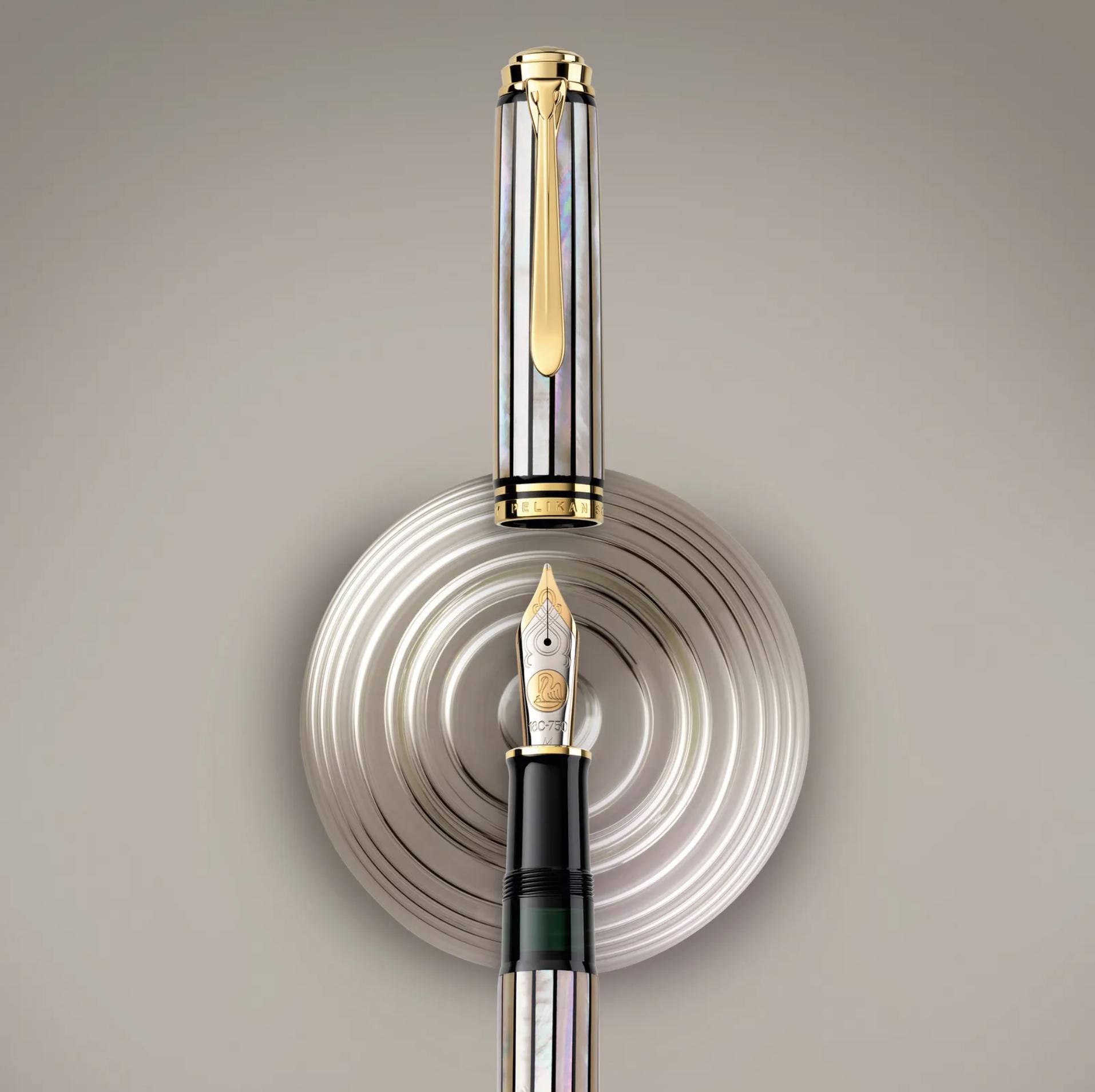 M1000 Raden White Ray Fountain Pen