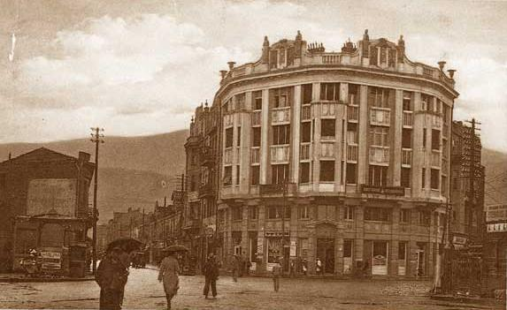 Ristiḱ Palace circa its completion in 1926